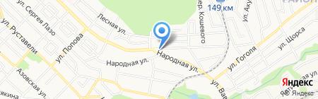 Арт-Принт на карте Ставрополя