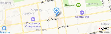 АmorePizza на карте Ставрополя
