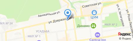Комитет городского хозяйства на карте Ставрополя