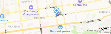 Go!Кофе на карте Ставрополя