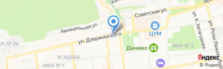 Цветы России на карте Ставрополя