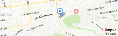 Автостекла-Ставрополь на карте Ставрополя