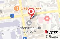 Схема проезда до компании Николас в Ставрополе