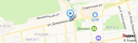 Профсоюз работников народного образования и науки РФ на карте Ставрополя