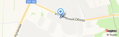 Атаман на карте Ставрополя