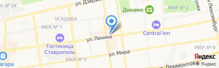 Tescoma на карте Ставрополя