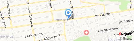 Арго на карте Ставрополя