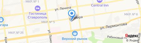 Ваш КанцтоварищЪ на карте Ставрополя