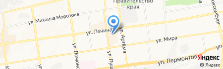 Элегант на карте Ставрополя