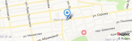 Геотэк на карте Ставрополя