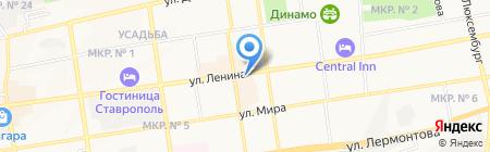 Аптека-Центр на карте Ставрополя