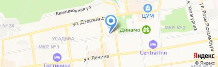 Прокуратура Ленинского района на карте Ставрополя
