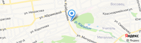 Ростовские окна на карте Ставрополя
