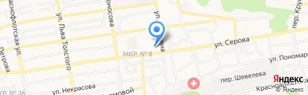 Ортодонт центр на карте Ставрополя