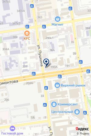 АПТЕКА КУЛЯБЦЕВ А.К. на карте Лермонтова