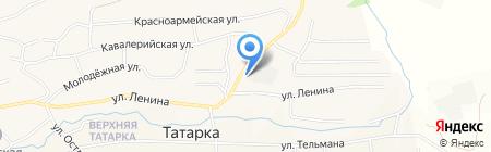 Монарх на карте Татарки