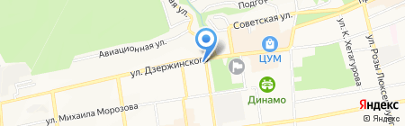 Posh на карте Ставрополя