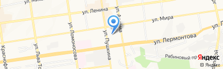 Детский сад №38 на карте Ставрополя