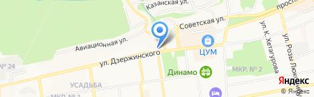 Витаминка на карте Ставрополя