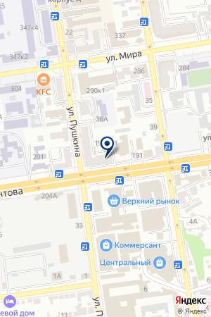 АКВАРИУМНЫЙ САЛОН АКВА ЦЕНТР на карте Лермонтова