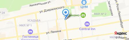 Гироман на карте Ставрополя