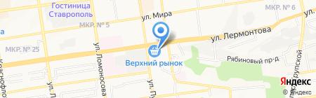Гиро у грека на карте Ставрополя