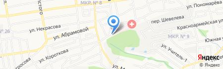 Лицей №10 на карте Ставрополя