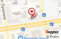 Схема проезда до компании Абитуриент в Ставрополе