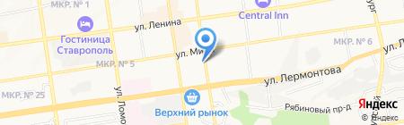 Информационно-методический центр по экспертизе на карте Ставрополя