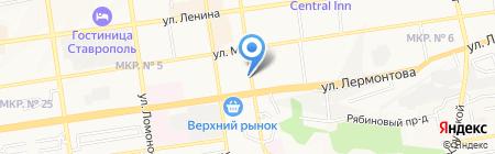 Знаем Играем на карте Ставрополя