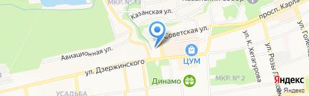 Адресъ на карте Ставрополя