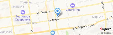 GreenSpark на карте Ставрополя
