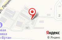 Схема проезда до компании Производственная база в Татарке