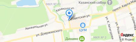 Giovane Gentile на карте Ставрополя