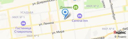 ВИТАЛМАР АГРО на карте Ставрополя