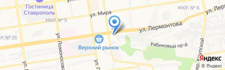 УФК на карте Ставрополя