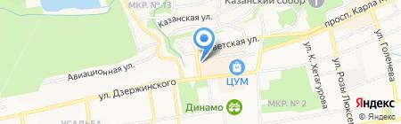 Заведение на карте Ставрополя
