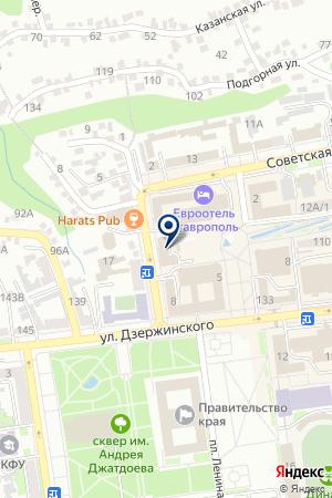 Контрольно счетная палата Ставропольского края Ставрополь  Контрольно счетная палата Ставропольского края на карте Ставрополя
