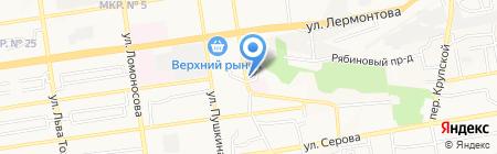 Старые друзья на карте Ставрополя