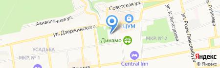 ИВЦ АИС на карте Ставрополя