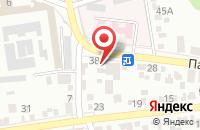 Схема проезда до компании Медиастав в Ставрополе
