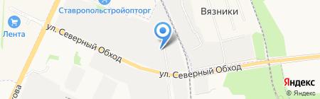 ЛесТорг Ставрополь на карте Ставрополя