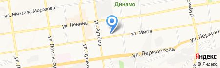 Символъ на карте Ставрополя