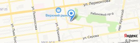 Ставропольское протезно-ортопедическое предприятие на карте Ставрополя