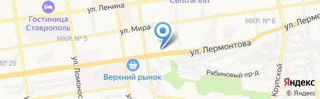 Фосагро-Ставрополь на карте Ставрополя