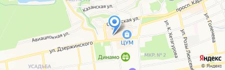 Региональный кадровый центр на карте Ставрополя