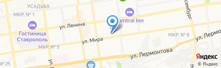 Строительная компания на карте Ставрополя