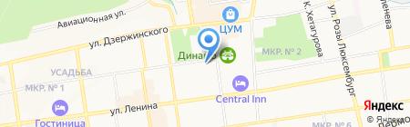 Сверчок на карте Ставрополя