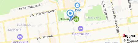 Брат на карте Ставрополя
