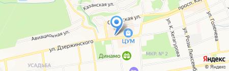 Coffee Spot на карте Ставрополя